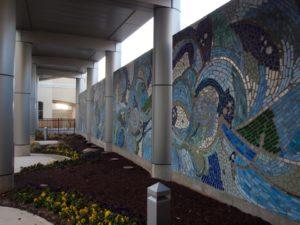 Atlanticare Mosaic Mural